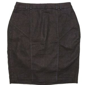 ASOS Petite linen pencil skirt